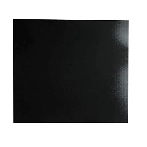 ZANYUYU Computer-Zubehör, schwarz beheiztes Bett-Aufkleber, 3M Drucker Hotbed Oberfläche Plattform Heizbettfolie für 3D-Drucker 3D-Drucker Teil 300 300 mm