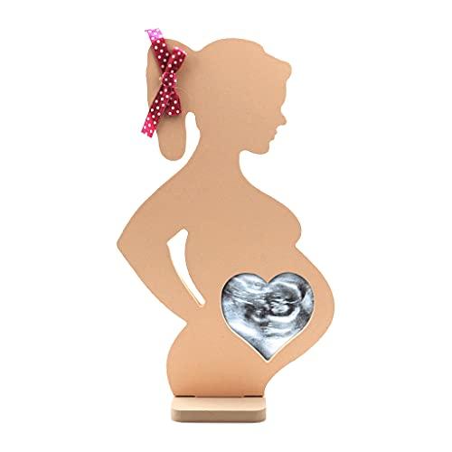 MagiDeal Ultrasonido Marco de Fotos Sonogram Marco de Fotos Mujeres Embarazadas Nueva mamá Parejas Regalo