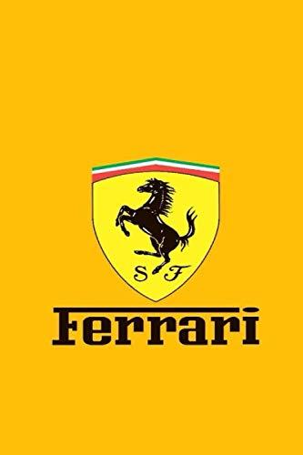 Ferrari: Notebook / Journal / Bloc Note - 120 pages 6x9