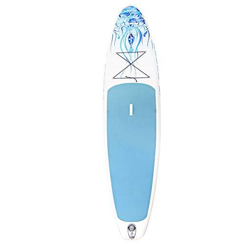 QPP-CL Stand Up Paddle Board Inflable (6 Pulgadas de Grosor) con Accesorios de Primera Calidad para Sup y Bolsa de Transporte | Postura Ancha, Aleta Inferior para remar, Control de Surf