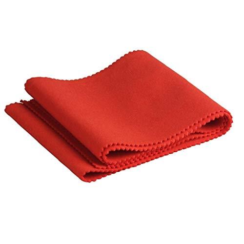 Cubierta Piano Franela Cubierta a Prueba de Polvo de 61 Teclas del Teclado electrónico Piano Digital Roland Consolas Rojo