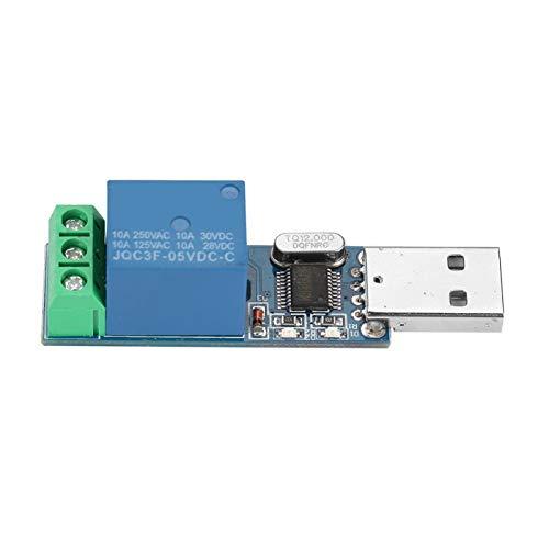 USB-Relaismodul, Micro-USB-Relaismodul für Arduino R3 MEGA 2560 1280 DSP, USB-Smart-Control-SchalterUSB-Relay-Modul Computer-Switch-Steuerung, USB-Control-Switch