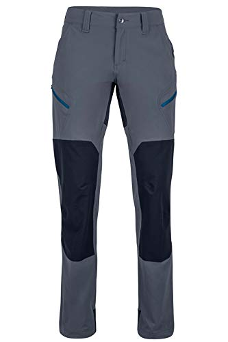 Marmot Wm's Limantour Pant Pantalones montaña Softshell, pantalones de senderismo,...