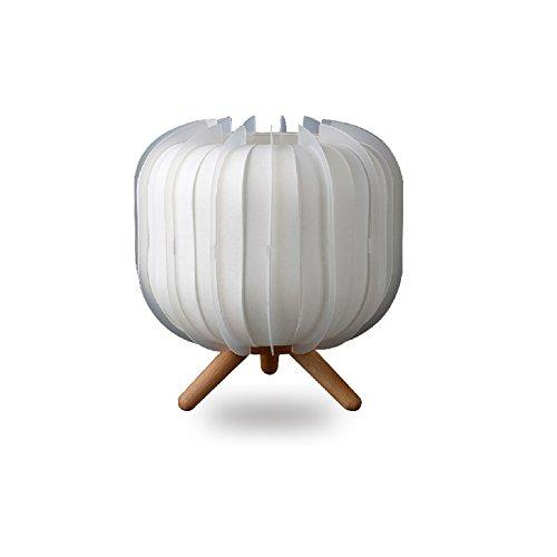 SKC Lighting-lampe de table Modern Simple créatif à trois pattes Stent Personnage en bois Chambre à coucher Étude Living Room Lampe de chevet
