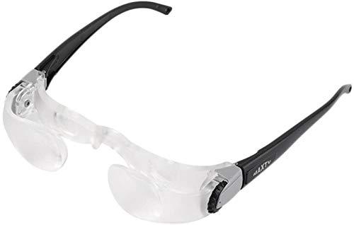 Bijziendheid Bril HoofdSlijtage Vergrootglas 300 graden verstelbare leesbril Portable for Low Vision TV kijken dljyy