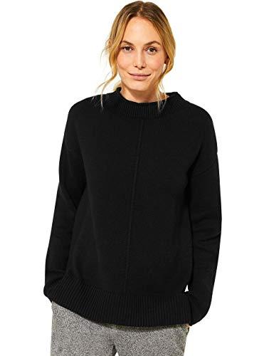 Cecil Damen 301419 Pullover, Black, M