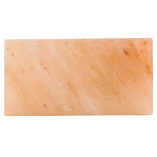 Mahlzeit Plancha/Tabla de Sal del Himalaya I 20,5 x 10,5 x 2,7 cm I para Cocinar Carne y Pescado I para Asar