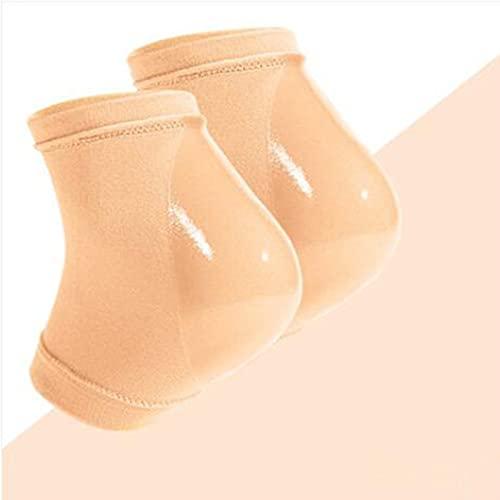 Heel Moisturizing Socks, Moisturizing Heel Sleeves, Soft Breathable Heel Gel Socks, Heel Socks with Gel for Dry Cracked Feet for Man Women (??)