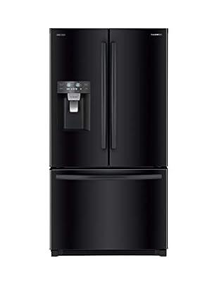 Daewoo RFS-26DTJE French Door Refrigerator, Stainless Steel
