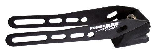 Powerslide Erwachsene Bremse Speedbrake Road Hog Fitting 110 Pcs, schwarz, 110mm