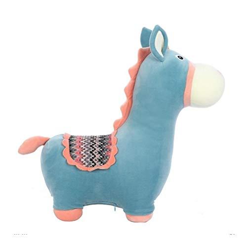 nobrand Netter Esel-Plüsch-Spielzeug Schlafen Gemütliche Kissen-kreative Kinder Weiches Spielzeug-Geschenk Tragbare Durable Plüschtiere Dekoration Kissen Spielzeug für Dekoration Geschenk