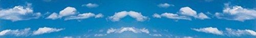 Vollmer 46112 Hintergrundkulisse Wolken, zweiteilig
