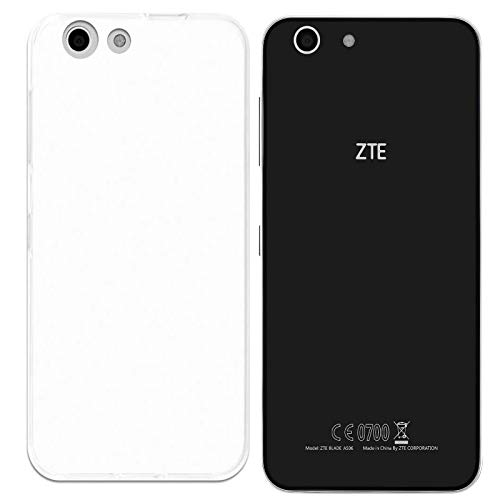 Todotumovil Funda de Gel TPU Carcasa Protectora Silicona para ZTE Blade A506 Transparente