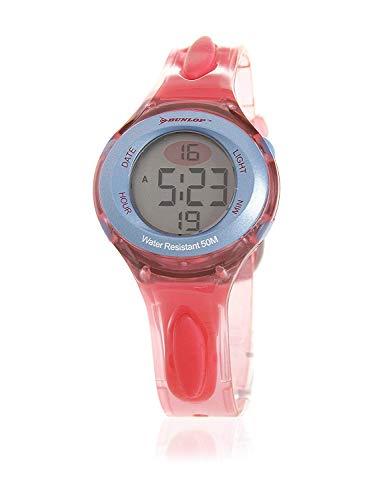 Dunlop Unisex Erwachsene Digital Quarz Uhr mit Gummi Armband MATCH3