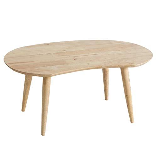 HIGHKAS Lapdesks Massivholz Tisch Schreibtisch Couchtisch Oval Tisch Studentenbett Laptop Computer Tisch (Größe: 74 * 47,5 * 32,5 cm)