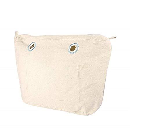 O bag OBCV01, Bolso Mujer, Beige (Naturale), 29x25x9 cm (W x alto x largo)
