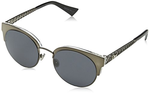 Dior Damen Dioramamini Ir 807 50 Sonnenbrille, Schwarz (Black/Grey Blute)