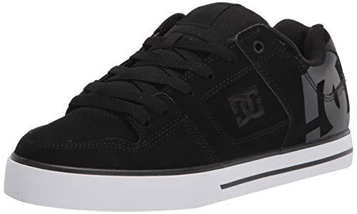DC Zapatillas de skate Pure para hombre, (negro/monograma negro), 49.5 EU