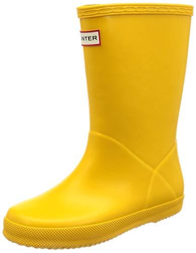 Hunter First Classic, Botas de Agua Unisex Niños, Amarillo (Yellow Ryl), 28 EU