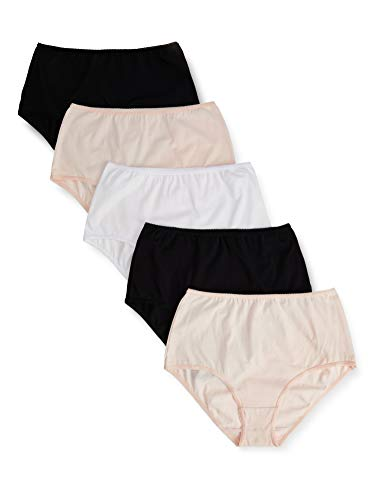 Marca Amazon - Iris & Lilly Waist Slip Mujer, Pack de 5,