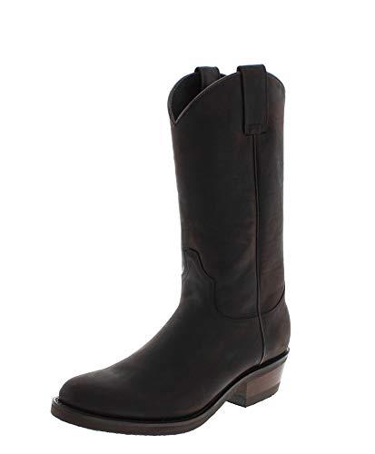 Sendra Boots Herren Cowboy Stiefel 5588 Hugo Westernstiefel Braun 48 EU