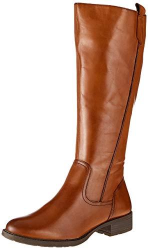 MARCO TOZZI Damen 2-2-25505-23 Hohe Stiefel, Braun (Cognac Antic 310), 38 EU