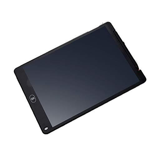WXJHA Tragbare Handschrift Doodle Pads LCD Writing Tablet für Kinder Erwachsene mit Part-Erase Mädchen Jungen Teen Lernen Bildungs,Schwarz