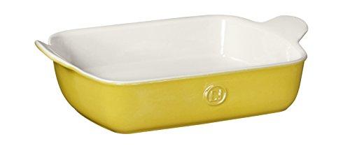 Emile Henry Made In France HR Modern Classics Small Rectangular Baker, 11 x 8', Yellow