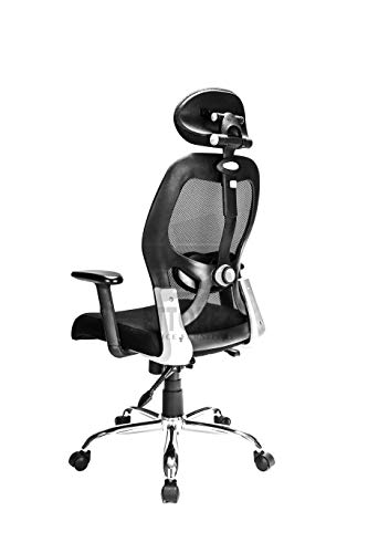 ETTOREZ  High Back Ergonomic Office Chair With Head Rest