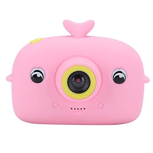 Goshyda Cámara Digital para niños, cámara de Deporte de Ejercicio SLR de Mano para niños de Alta definición con Pantalla Colorida de 2.0 Pulgadas para Windows me / 2000/2003 (Rosa)