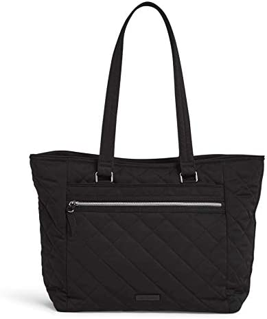 Vera Bradley Women s Performance Twill Work Tote Totes Black One Size product image