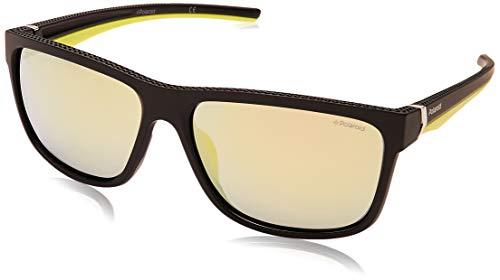 Polaroid PLD 7014/S M9 gafas de sol, Negro (Black/Grey Pz), 59 para...