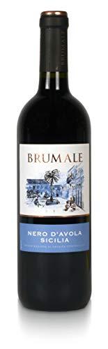 Brumale - Vino Rosso Nero DAvola Sicilia DOC - 1 Bottiglia da 700ml
