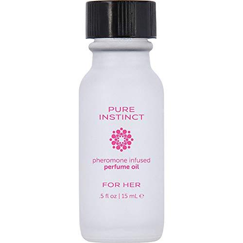 Pure Instinct Pheromone Perfume Oil for Her...