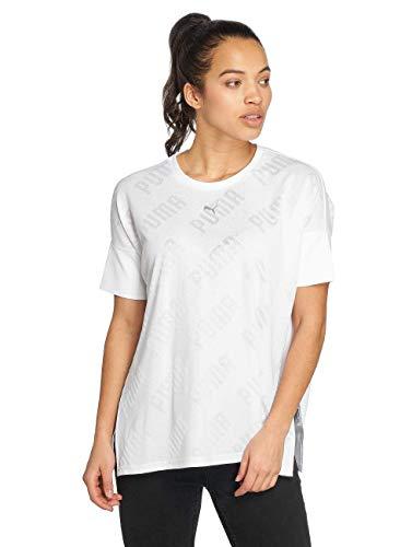 Puma Damen Oberteile/T-Shirt En Point Weiß XL