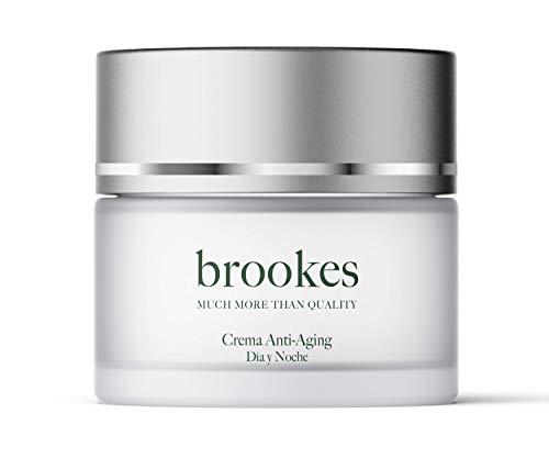 BROOKES Crema hidratante facial antiarrugas para mujer y hombre de día y noche - 50 ml
