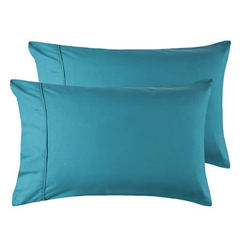 Funda Almohada de Microfibra for France Verde Azulado 50x70