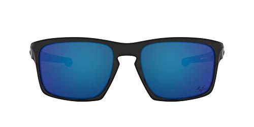 Ray-Ban Herren 0OO9262 sonnenbrille, Blau (Polished Black), 57