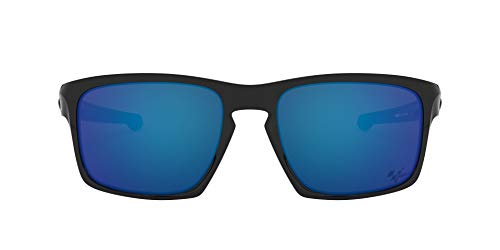 Ray-Ban Herren 0OO9262 sonnenbrille, Blau (Polished Black), 57