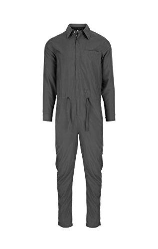 OnePiece Damen Silver Jumpsuit, Schwarz (Charcoal), 34 (Herstellergröße: XS) - 3