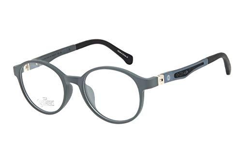 Armação Para Óculos de Grau Feminino CHILLI BEANS Redondo, LVIJ0165 0404, Cinza, Único