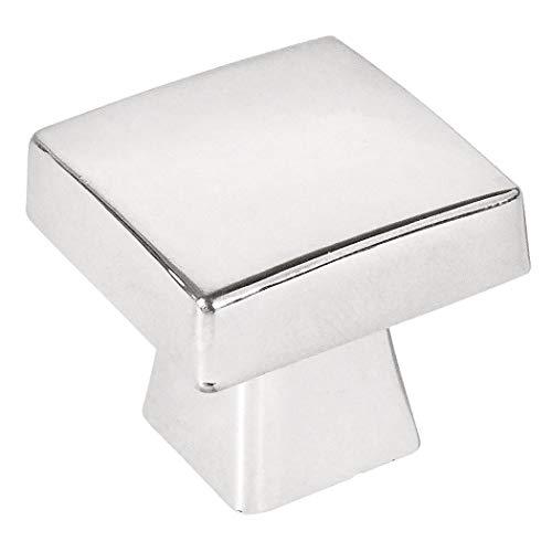 10 Pack - Cosmas 5233CH Polished Chrome Contemporary Square Cabinet Knob