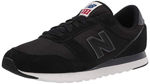 New Balance mens 311 V2 Sneaker, Black/Magnet, 8 US
