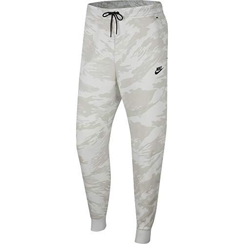 Nike Tech Camo - Pantalón de forro polar (talla S), color marrón