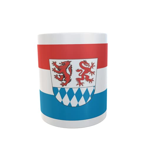 U24 Tasse Kaffeebecher Mug Cup Flagge Landkreis Passau