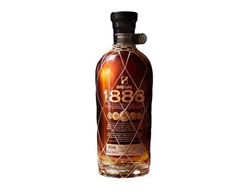 Brugal 1888 Dominikanischer Premium Rum, zweifach gelagert für ein komplexes Aroma, 40% Vol, 1 x 0,7l