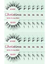 12packs Eyelashes - #WSP (Christina)