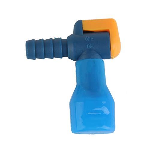 SGerste Paquete de hidratación Boquillas de repuesto de válvula de mordida con interruptor de encendido para camping, senderismo, mochilero, bolsa de agua con boquilla de succión