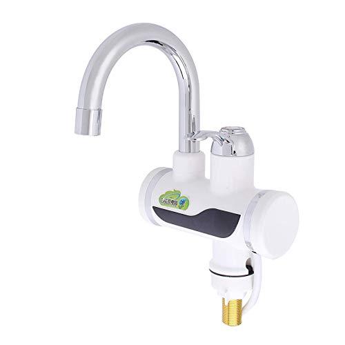 GrifoPantalla De Temperatura Calentador De Agua Instantáneo De Calor Rápido Grifo Caliente Eléctrico Duradero Sin TanqueGrifo De Cocina