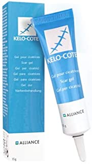 kelo-cote疤克祛疤膏美国进口硅凝胶软膏15g芭克凹凸疤抑制增生双眼皮剖腹产疤痕修复巴克祛疤膏